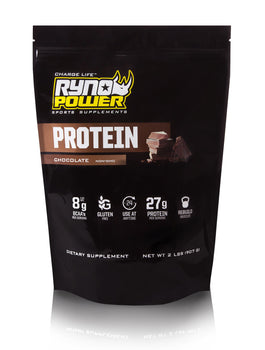 PROTEIN Premium Whey Chocolate Powder | 20 Servings (2 LBS / 907 G)