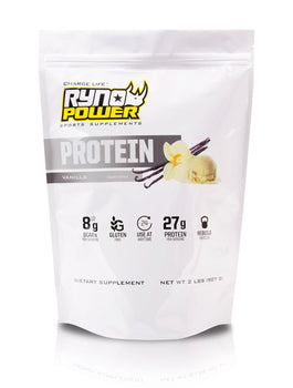 PROTEIN Premium Whey Vanilla Powder | 20 Servings (2 LBS / 907 G)
