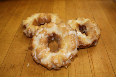 Sour Cream Glazed Cake Donut