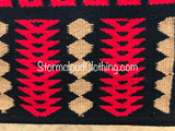 Black, Red, Tan Ranch Pad