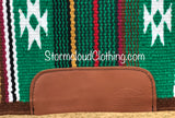 Serape with Brown Base