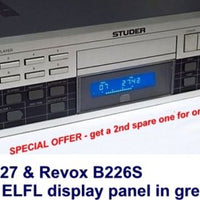ELFL Luminescent Illuminator for Revox B226S & Studer A727 CD Player