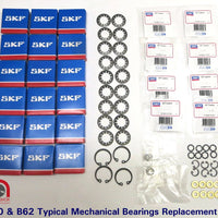 Studer A80 and B62 FULL bearing overhaul kits