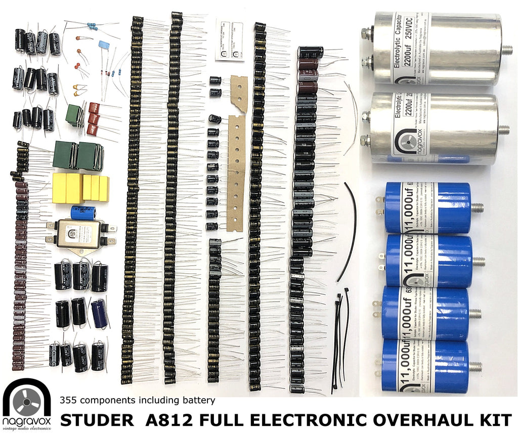 A812Full  ELECTRONIC OVERHAUL kit