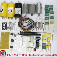 Electronic capacitor, trimmer & rectifier overhaul kit for Revox 36 series