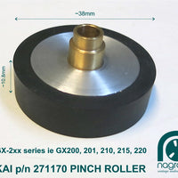 Akai Pinch Roller for GX series 200, 201, 210, 215, 220