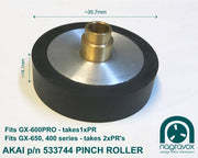 Akai Pinch Roller for GX650, 400 series & GX600 PRO