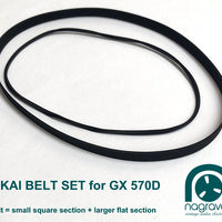 Akai 570D belt set