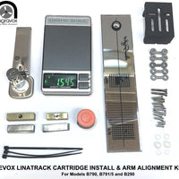 CARTRIDGE INSTALLATION and ARM ALIGNMENT SERVICE KIT for Revox Linatrack