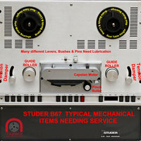 Full mechanical Overhaul Kit for Studer B67