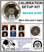 Setup Calibration Kit for Revox  A700