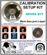 Setup Calibration Kit for Revox  B77