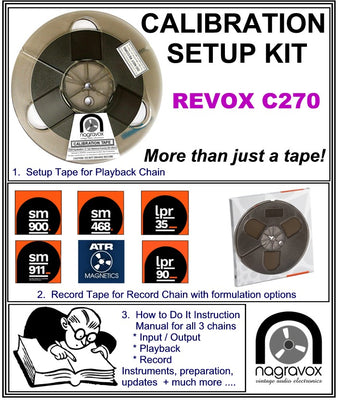 Setup Calibration Kit for Revox  C270