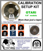 OTARI Setup Calibration Kit