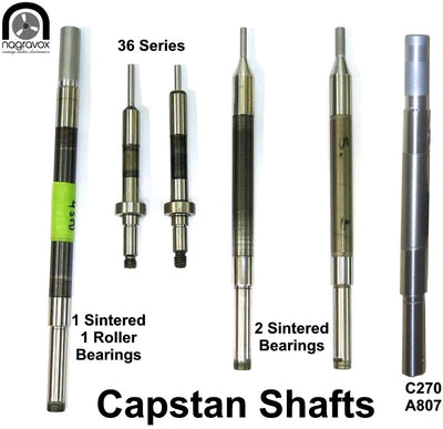 Capstan shaft reconditioning service exchange basis