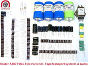 FULL Electronic Tape Systems and Audio capacitor overhaul kit for Studer A807