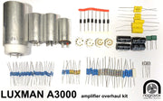 LUXMAN A3000 MB3045 Amplifier Full Electronic Restoration Overhaul Kit