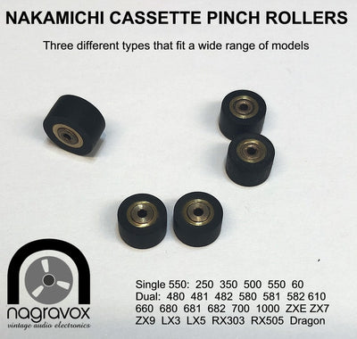 Nakamichi Pinch Rollers