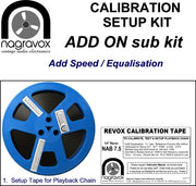 Extra add-on for Revox calibration kits (Add another Speed Equalisation)