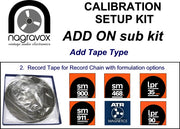 Extra add-on for Revox calibration kits (Add another Tape Type)