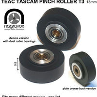 "TEAC TASCAM PINCH ROLLER for a variety of narrower 1/4"" machines"