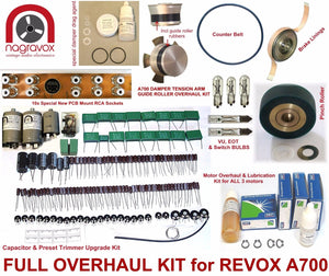 Full Monty overhaul kit for Revox A700