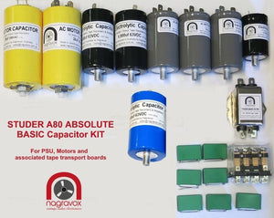Basic capacitor upgrade overhaul kit for Studer A80