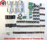 AKAI GX280/285 electronic capacitor and trimmer kit