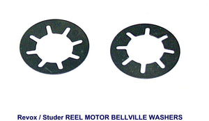 Revox Tape Reel Motor Bellville Thrust Washers - Small type