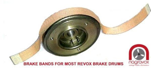 Brake Linings for Revox & Studer