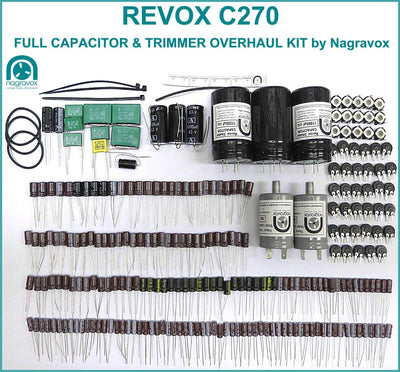 Electronic overhaul kit for Revox C270, C274 and  C278