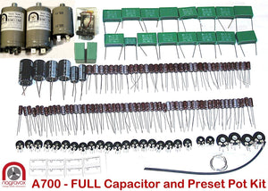 Electronic capacitor trimmer upgrade kit for Revox A700