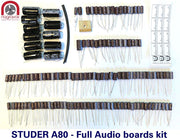 Audio capacitor service upgrade kit for Studer A80, A80R, & A80QC