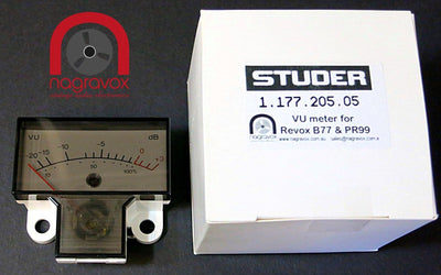VU meters for Revox B77 and PR99