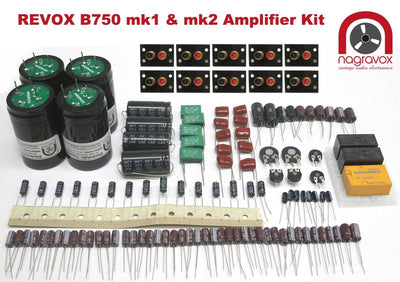 Revox B750 amplifier FULL MONTY electronic overhaul restoration kit