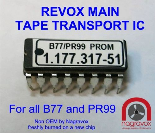 Controller IC for Revox B77 and PR99