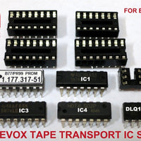 Revox B77 and PR99 tape transport control IC replacement kit