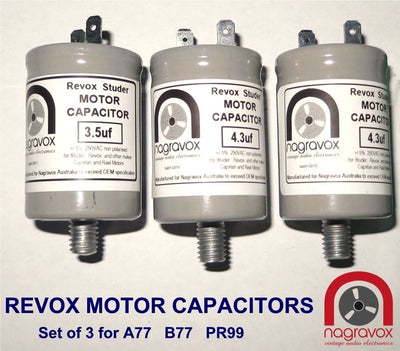Revox Motors Capacitors Set