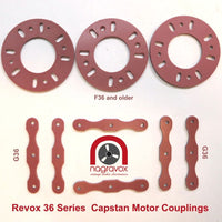 Capstan Motor Couplings for Revox F36 and G36