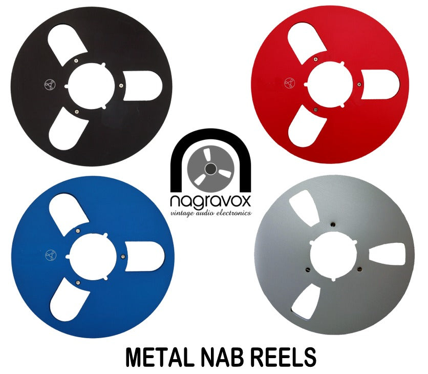 TAPE REELS - Empty - Metal and Plastic