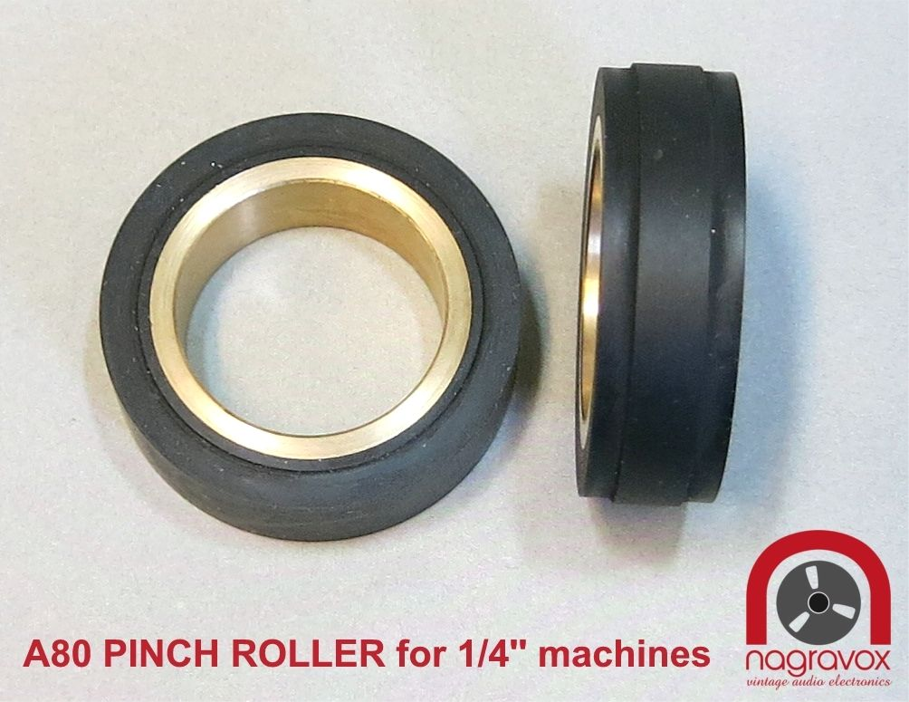 "Pinch Roller 1/4"" for Studer A80"