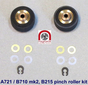 Pinch Roller Kit for Revox B215, B710 mk2 and Studer A721
