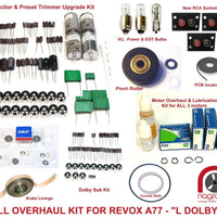 Revox A77 Full Monty electronic and mechanical overhaul kit