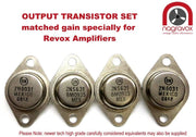 Amplifier option output transistors kit for Revox B750