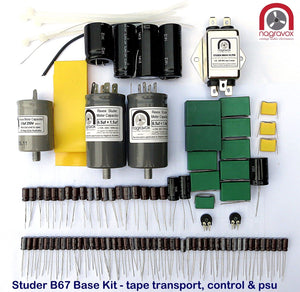 Electronic overhaul kit for Studer A67 & B67