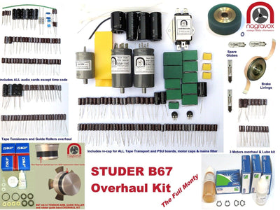 Full Monty overhaul kit for Studer A67 & B67