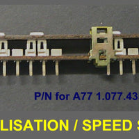 Long Slide Speed Equalisation Switch for Revox A77, B77 & PR99