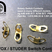Switch Contacts for most Revox & Studer