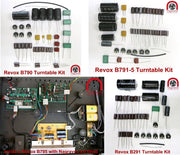 Revox Linatrack B790, B791/5 & B290  series Turntable Electronic Overhaul Kit