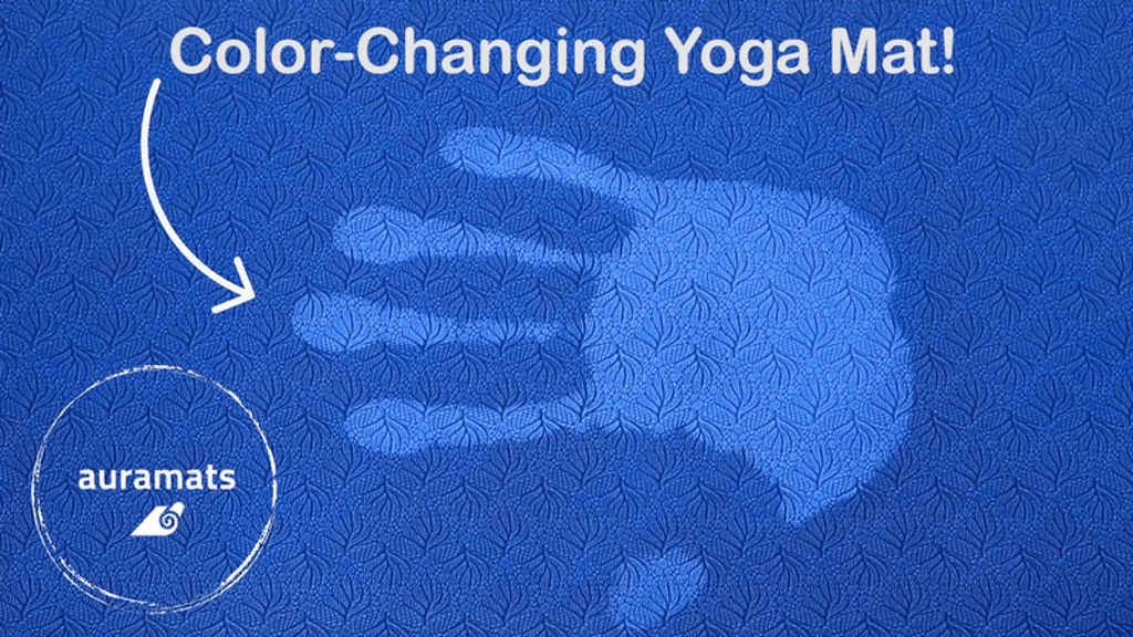 AuraMats Kickstarter Color Changing Yoga Mat